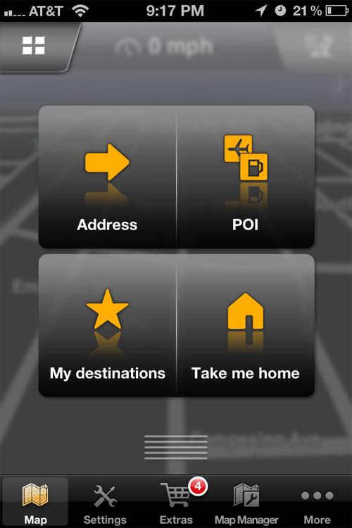 Navigon iPhone GPS App Review
