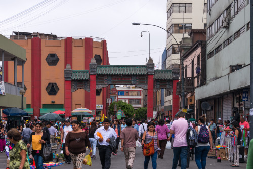Lima, Peru Chinatown